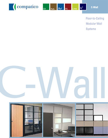 Cover of the C-Wall brochure.