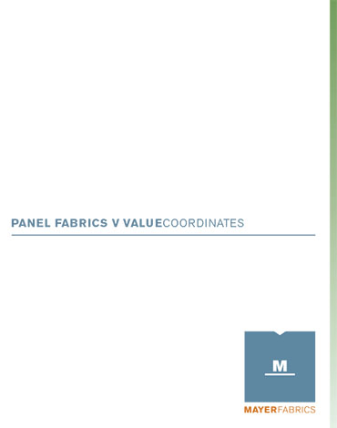 Cover of the Mayer Panel fabric card.