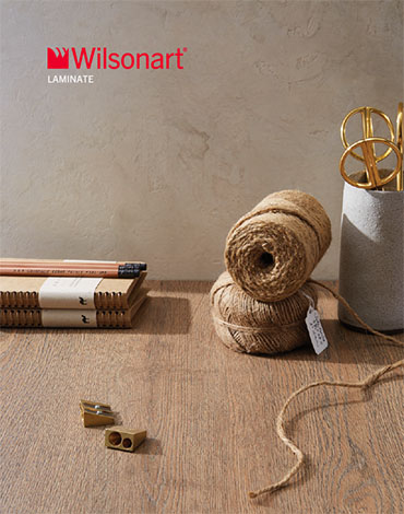 Cover of the Wilsonart Laminate brochure.